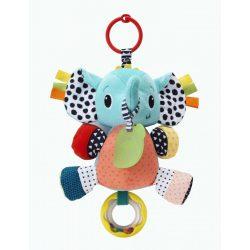 Infantino plüss játék - elefánt