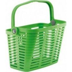 Bellelli Plaza műanyag bicikli kosár - zöld