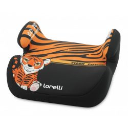 Lorelli Topo Comfort autós ülésmagasító 15-36kg - Tiger blck-orange 2020