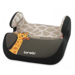 Lorelli Topo Comfort autós ülésmagasító 15-36kg - Giraffe light-dark beige 2020