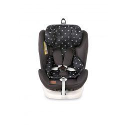 Lorelli Lusso SPS isofix autósülés 0-36kg - Black Crowns 2020