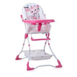 Lorelli Bonbon fix etetőszék - Pink Cat 2020