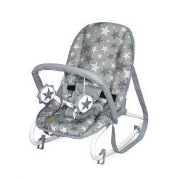 Lorelli Rock Star pihenőszék 0-9kg - Grey Stars 2020