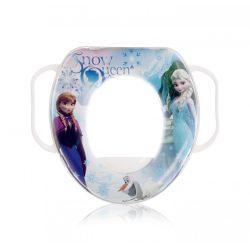 Lorelli Disney mintás párnázott WC szűkítő - Jégvarázs / fehér