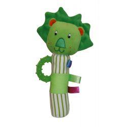 Lorelli Toys Plüss csörgő rágóka - Oroszlán !! kifutó !!