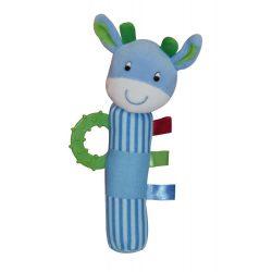 Lorelli Toys Plüss csörgő rágóka - Zsiráf