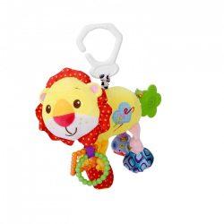 Lorelli Toys vibráló plüss játék - oroszlán