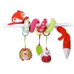 Lorelli Toys plüss spirál játék - róka
