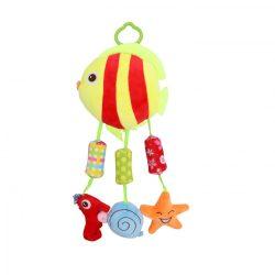 Lorelli Toys készségfejlesztő plüss játék - halacsaka