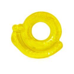 Baby Care Hűthető rágóka - Csigás Sárga