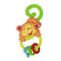 Baby Care csörgő-rágóka - Monkey / Majom