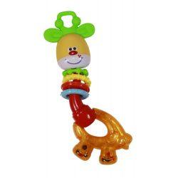 Baby Care csörgő-rágóka - Giraffe / Zsiráf