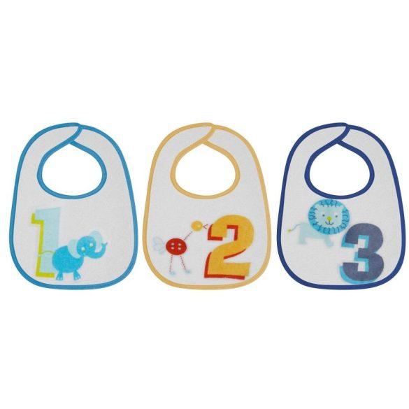 Baby Care 7db-os előke, mintás