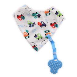 Baby Care nyálkendő levehető rágókával