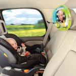 Munchkin Magical Firefly™ fejtámlára rögzíthető LED-es zenélő autós tükör