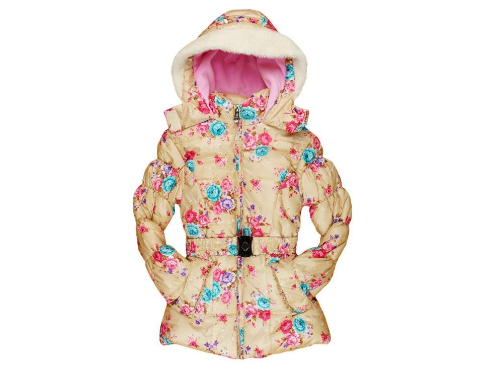 08718d2e70 Lányka virágos divat kabát - Pindurka Bababolt! - A minőségi ...