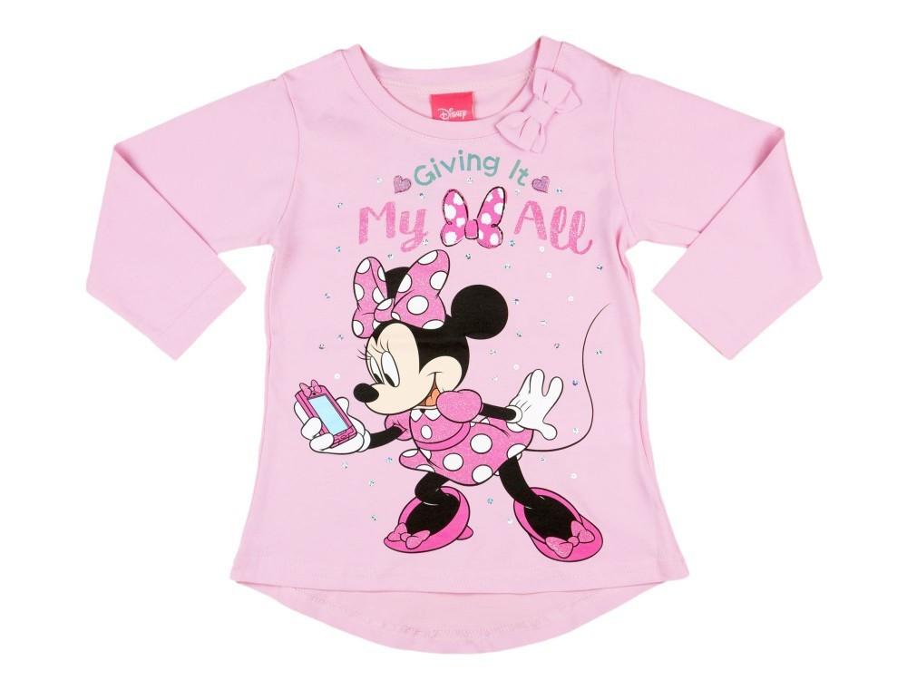 Disney Minnie hosszú ujjú póló - Pindurka 2d1953a99f