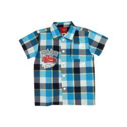 Disney Cars-Verdák fiú kockás ing