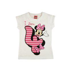 Disney Minnie szülinapos kislány póló 4 éves