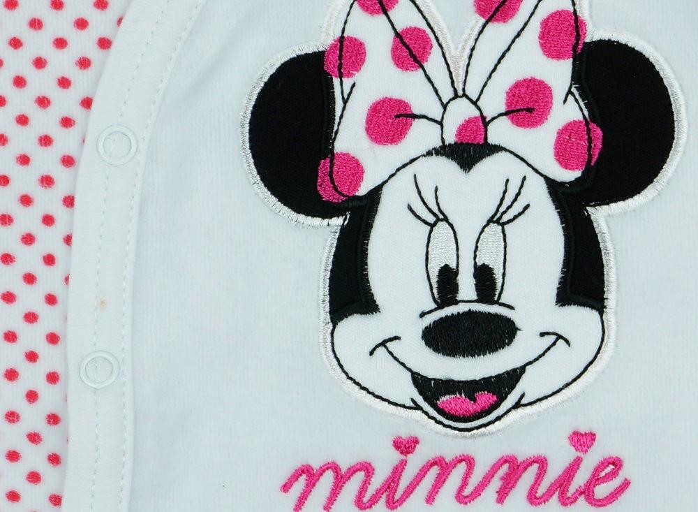 2a9ba4a18e Disney Minnie lányka ujjatlan plüss rugdalózó - Pindurka Bababolt ...