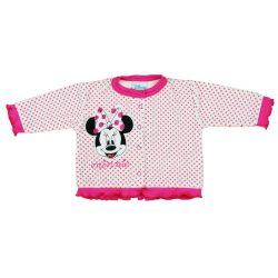 Disney Minnie bébi plüss kocsikabát (kardigán)