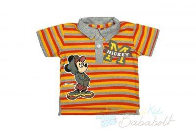Disney Vaiana rövid ujjú fiú póló (méret:98 128)