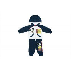 Disney Mickey baba/gyerek bolyhos szabadidő szett (méret: 62-104)