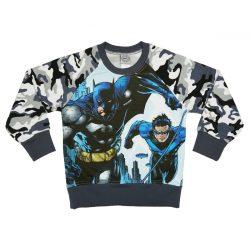 Batman gyerek bolyhos pulóver (méret: 104-152)