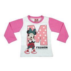 Disney Minnie hosszú ujjú póló (méret: 80-116)