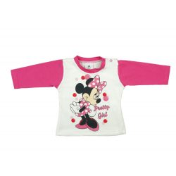 Disney Minnie baba hosszú ujjú póló (méret: 62-86)