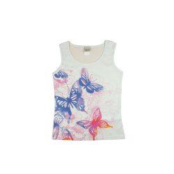Pillangó mintás lányka trikó