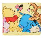 Disney Micimackó és barátai gumis lepedő (méret: 60cmx120cm, 70cmx140cm)