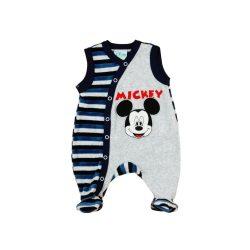 Disney Mickey fiú ujjatlan plüss rugdalózó