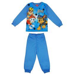 Paw Patrol-Mancs őrjárat mintás fiú hosszú pizsama