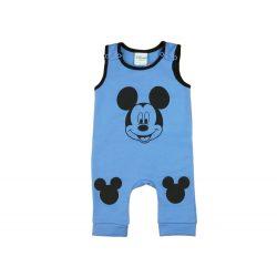 Disney Mickey belül bolyhos ujjatlan rugdalózó (méret: 56-92)