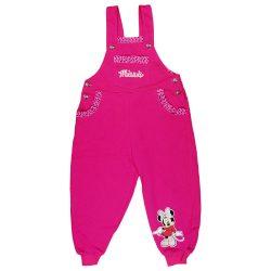Disney Minnie belül bolyhos lányka kertésznadrág