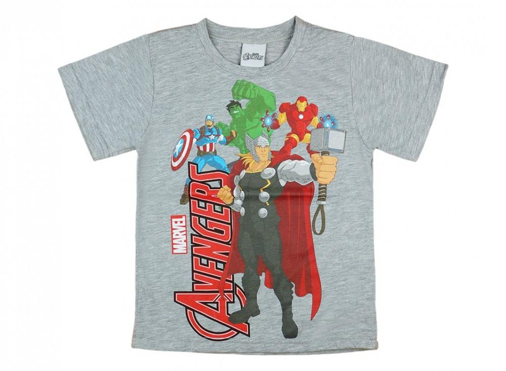 Avengers-Bosszúállók fiú rövid ujjú póló szürke - Pindurka 085b23182f