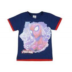 Pókember mintás fiú rövid ujjú póló