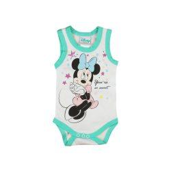 Disney Minnie ujjatlan lányka kombidressz zöld
