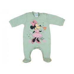 Disney Minnie lányka hosszú ujjú rugdalózó pasztell