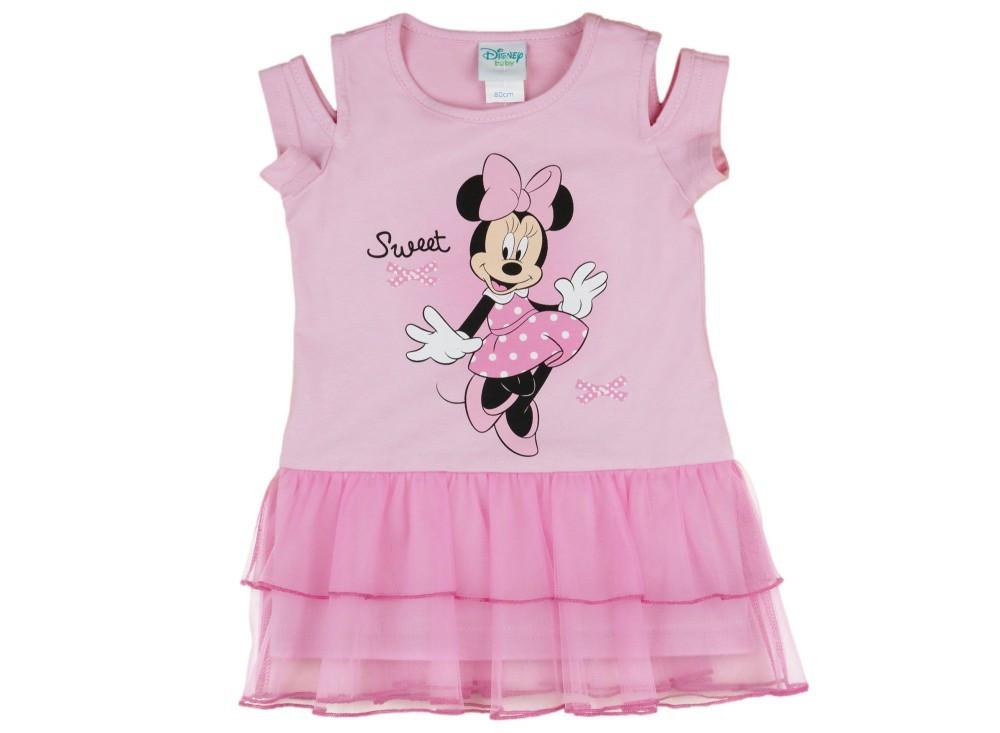 e025729ab7 Disney Minnie lányka nyitott vállú tüllös ruha - Pindurka Bababolt ...