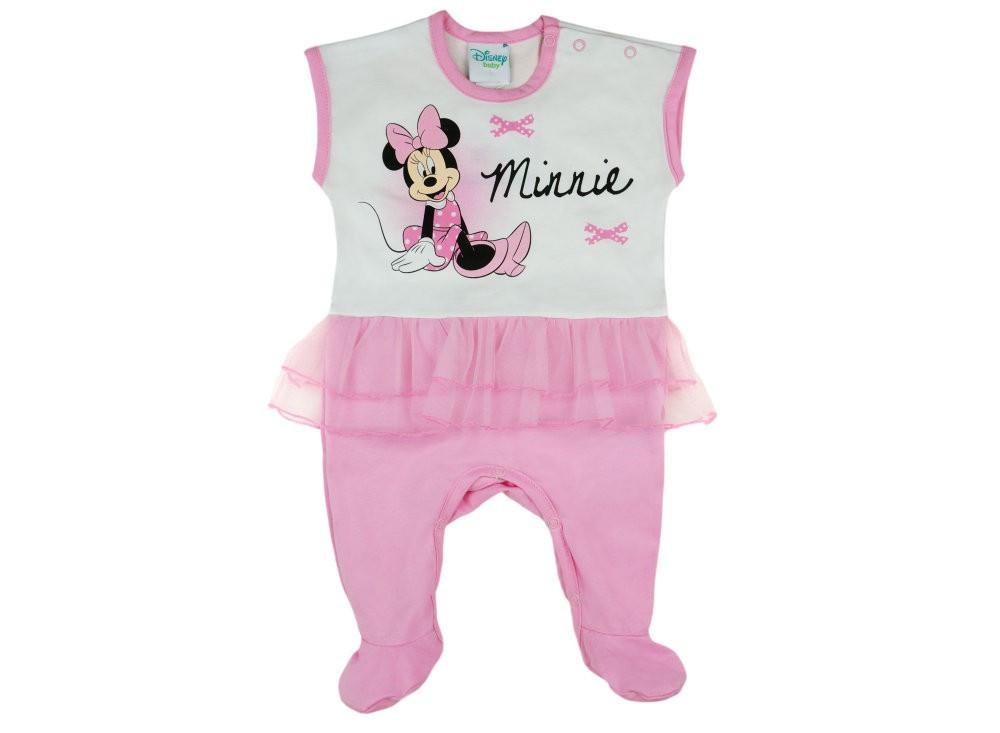 Disney Minnie lányka ujjatlan rugdalózó tüllel - Pindurka 647746464f