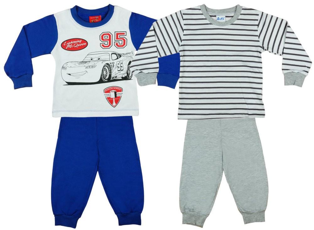 ebe30f6a64 Disney Cars/Verdák fiú páros hosszú pizsama szett (2db) - Pindurka ...