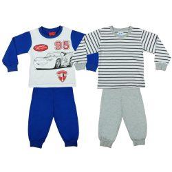 Disney Cars/Verdák fiú páros hosszú pizsama szett (2db)