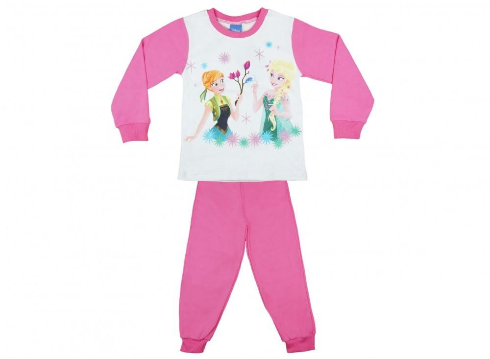 Disney Frozen lányka hosszú pizsama rózsaszín - Pindurka 8bf5b84ea1