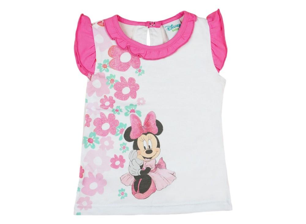 f4b5c387e3 Disney Minnie lányka virágos ujjatlan atléta - Pindurka