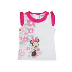 Disney Minnie lányka virágos ujjatlan atléta