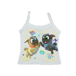 Kutyapajtik mintás lányka trikó