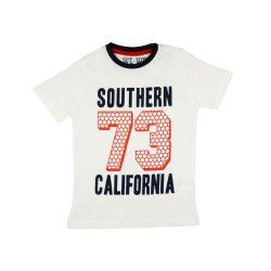 Fiú rövid ujjú póló Southern felirattal