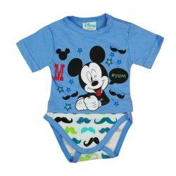 Disney Mickey rövid ujjú kombidressz Bajusz kék